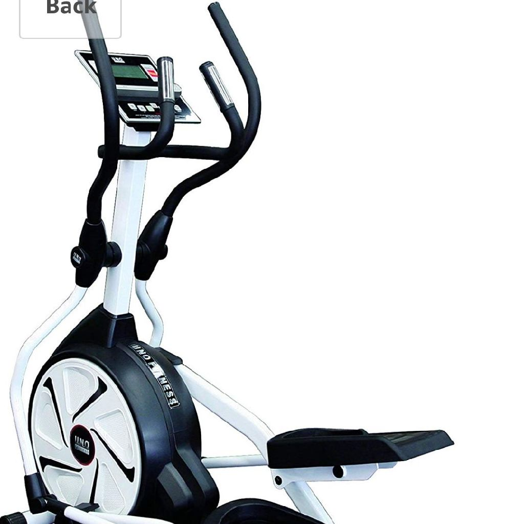 Gym sized cross trainer