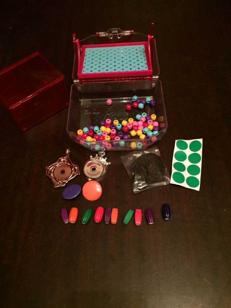 Colour Splasherz Purse and Jewel Set
