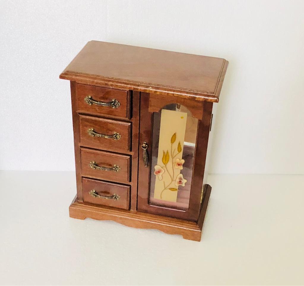 Jewellery BOX - Mini Wardrobe Box