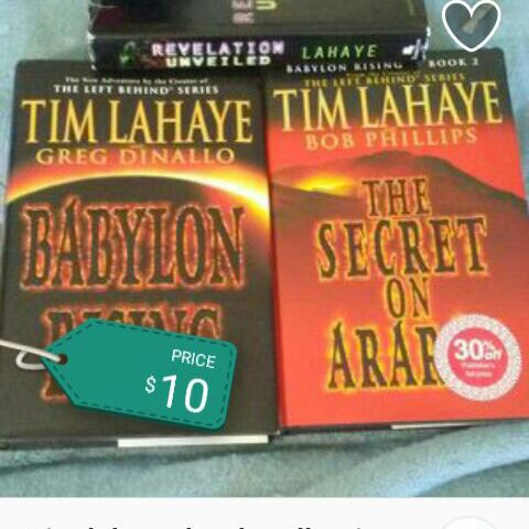 set of Tim lahaye books