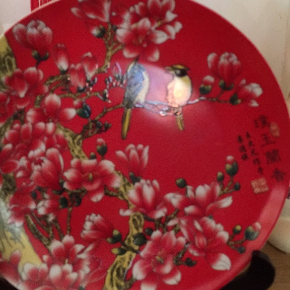 Chinese antique plate
