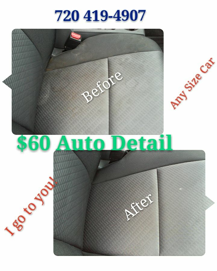 $60 Auto detail (Any size car)