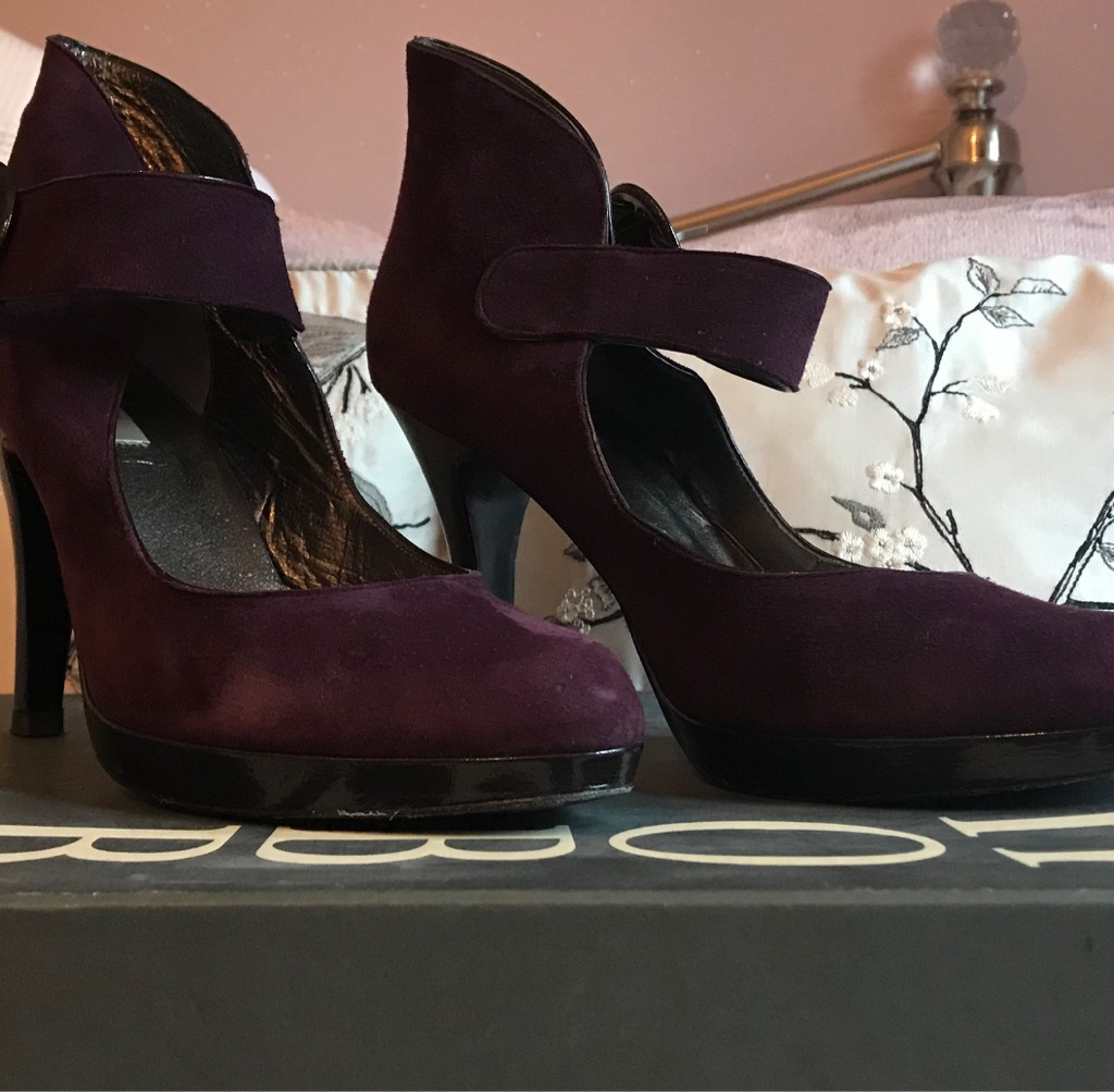 Hobbs Limited Edition Grape shoes - Size 39
