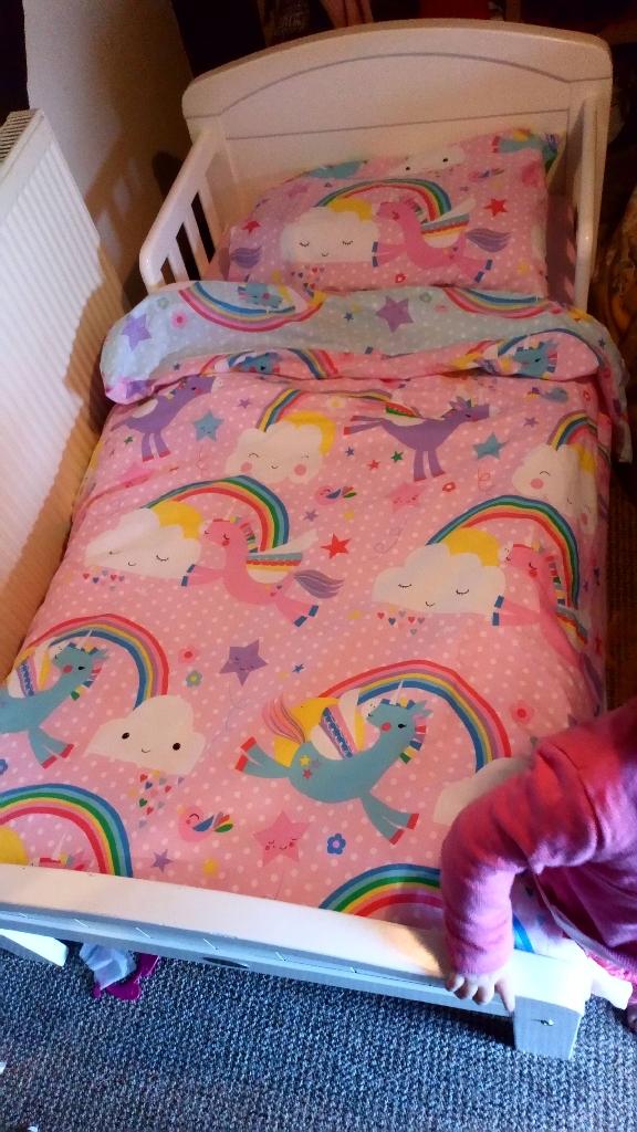 Complete toddler bed bundle.