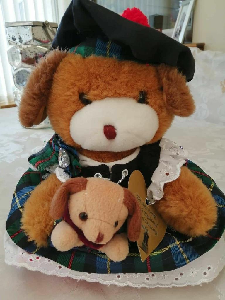 Aboyne Highland Dancing teddies