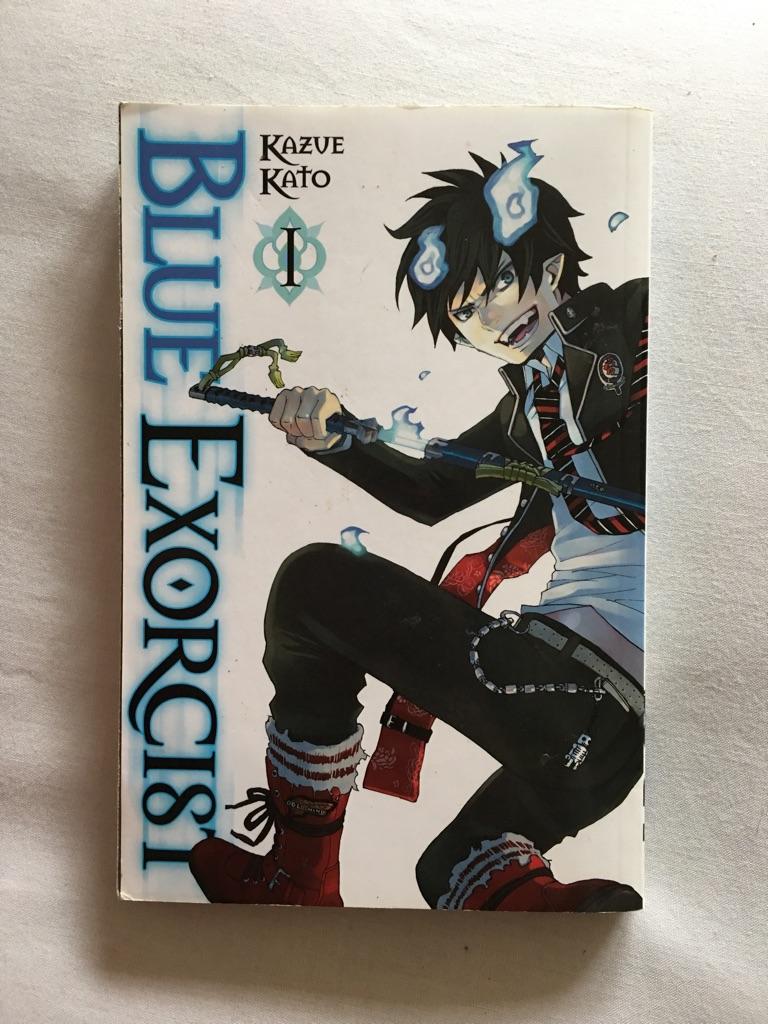 Blue exorcist book.