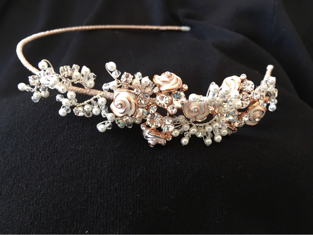 Wedding hairpiece (never worn)
