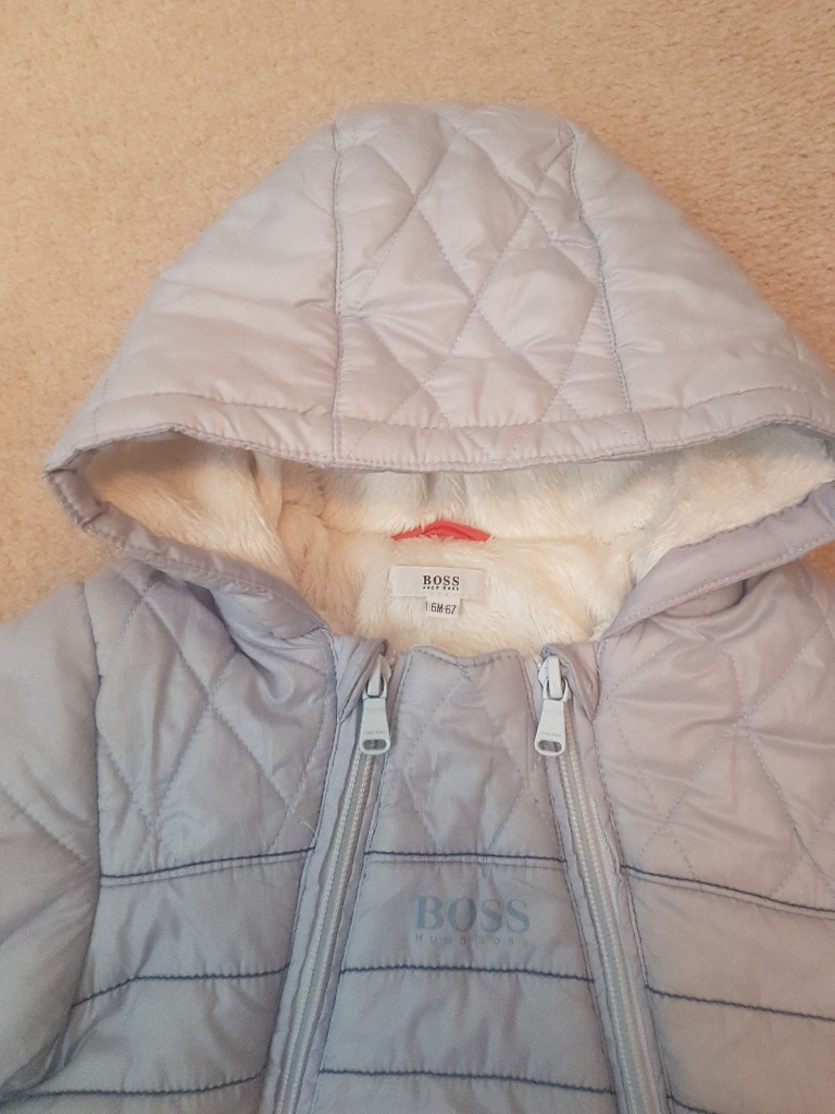 HUGO BOSS baby coat upto 6 months