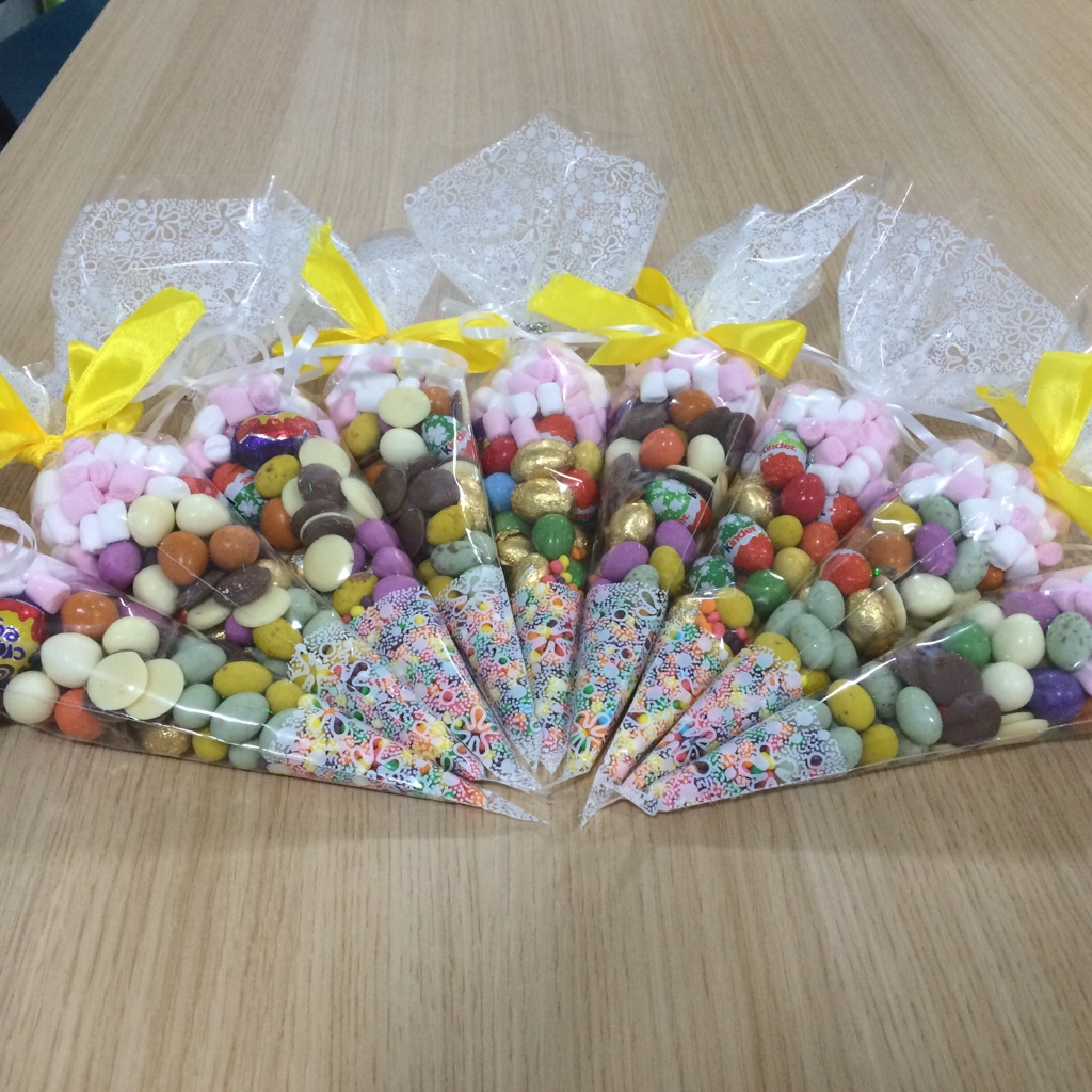 Easter sweets cones
