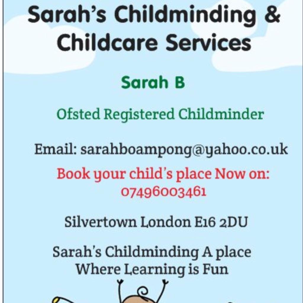 Sarah's childminding &Childcare Services