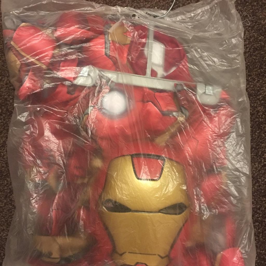 Brand new disney store Iron man costume age 5-6