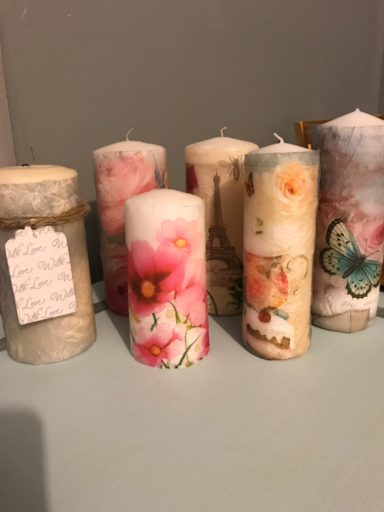Vintage candles