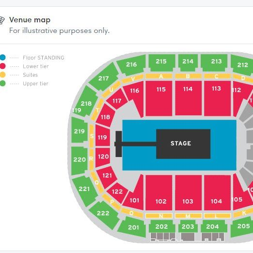 Drake tickets x 2 Manchester Monday 11th March block 113