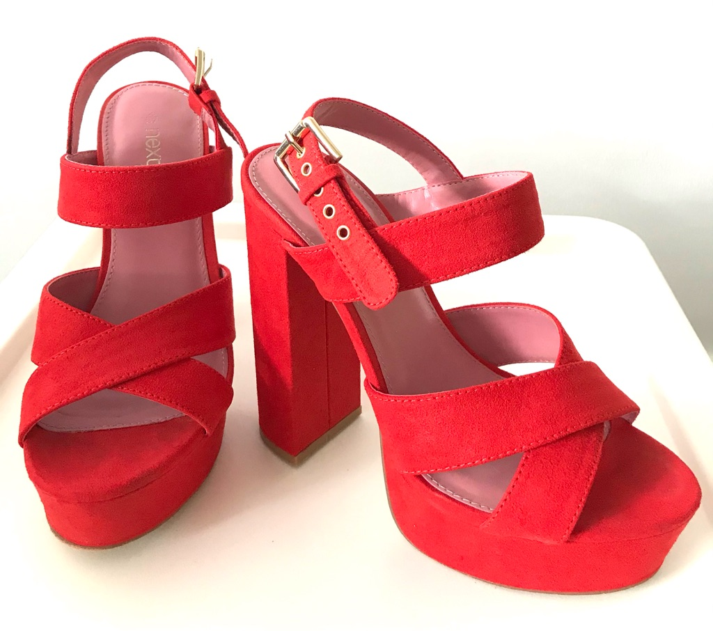 Platform High Heel Sandal (NEXT)