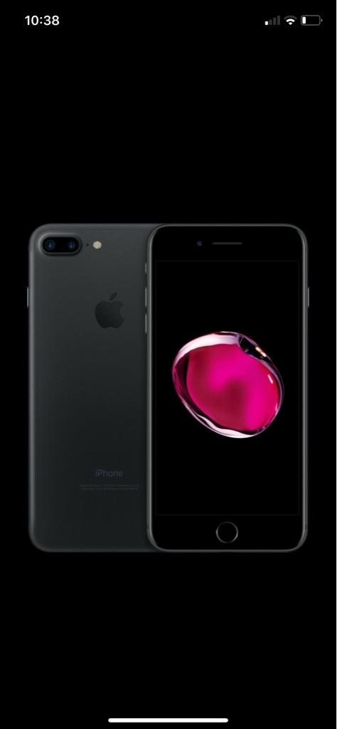 iPhone 7 Plus, 32gb, black