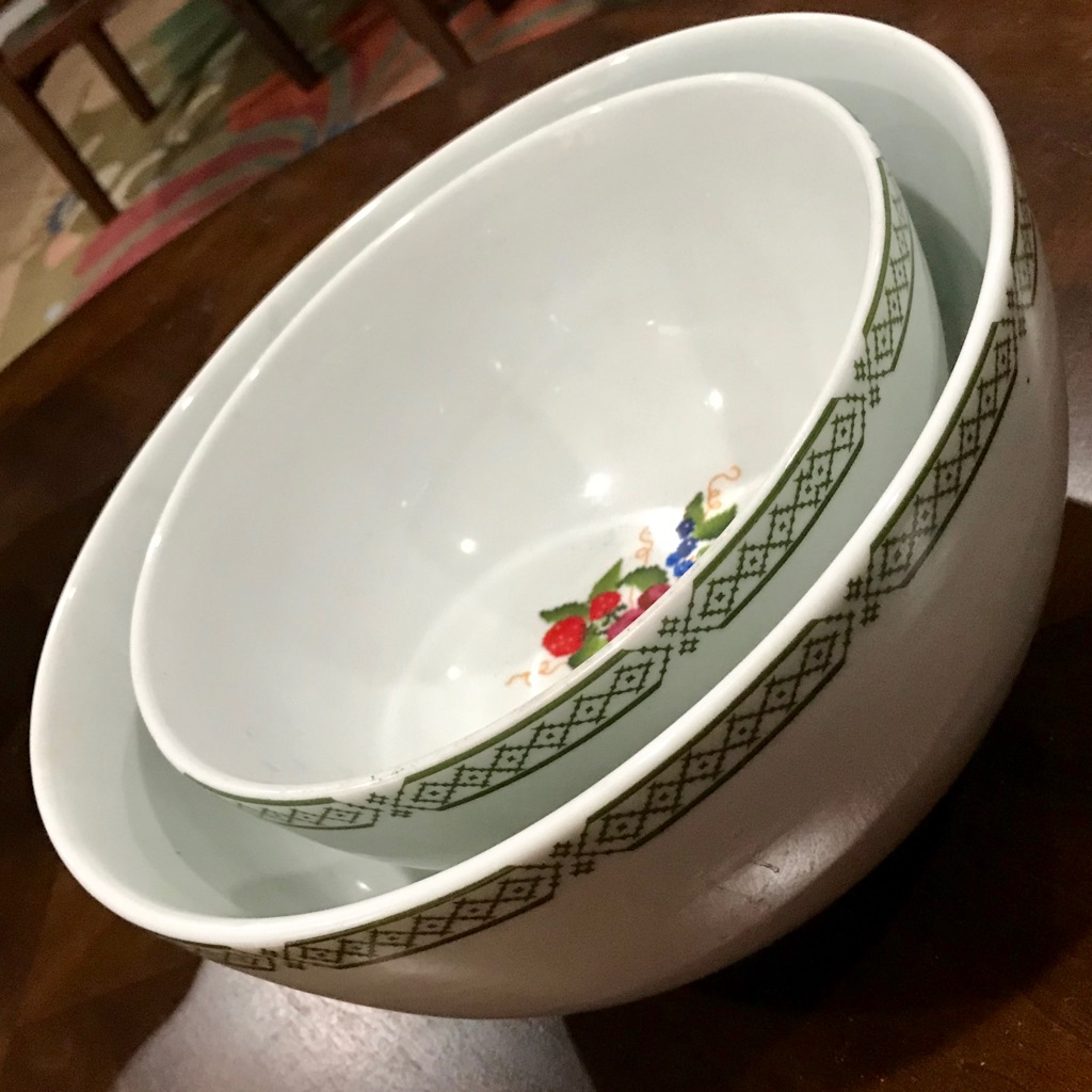 Salad Bowl 2pcs