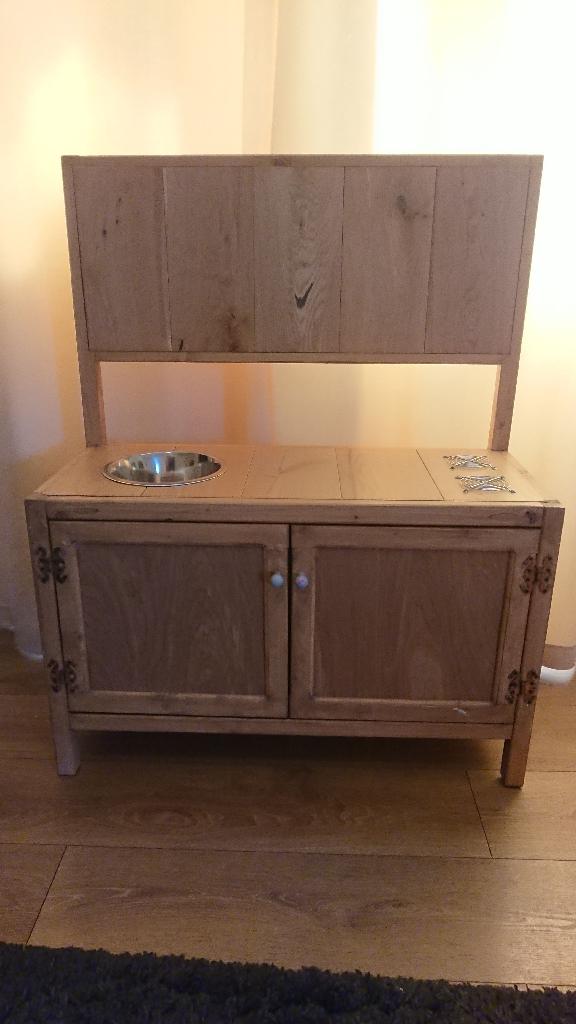 Bespoke wooden children's play kitchen