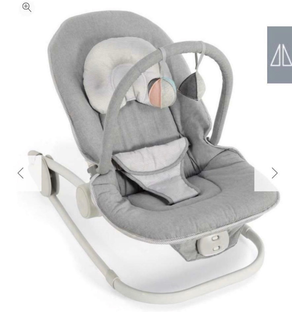 Mamas and papas grey bouncer chair