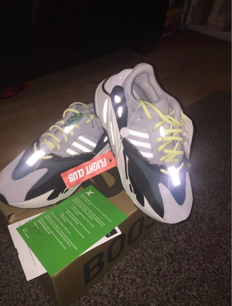 Adidas Yeezy Boost 700 Solid Grey UK9