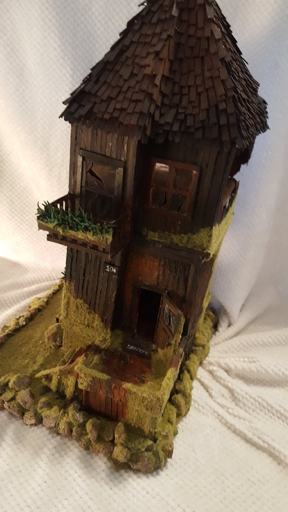 """Stable House"" Sculpture"