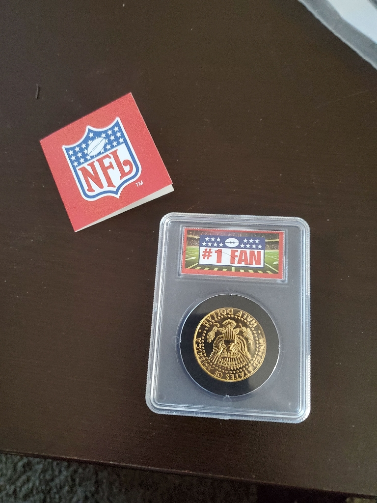 Collectible packer coin