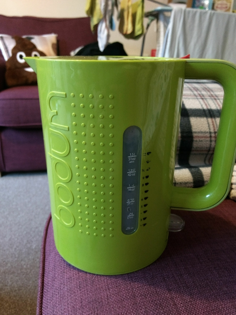 Bodum green kettle