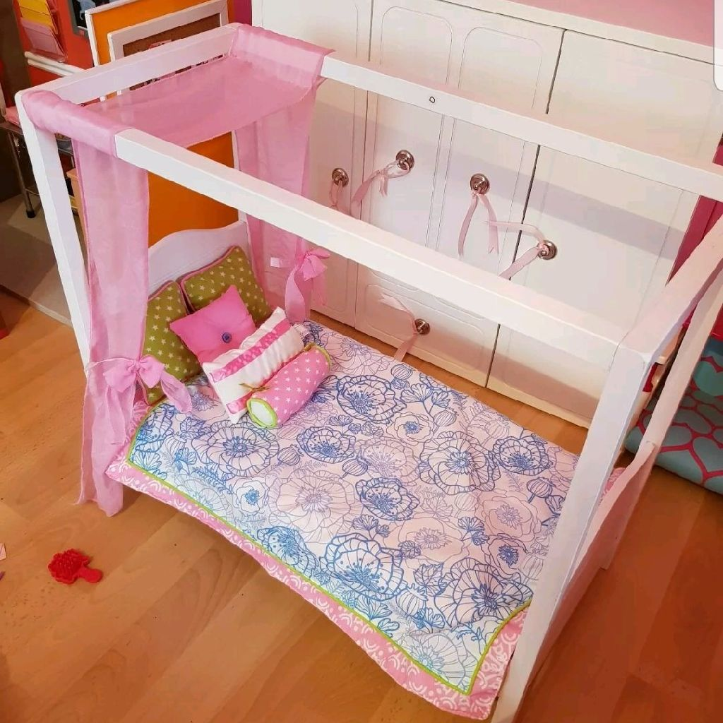 Our generation doll's bed