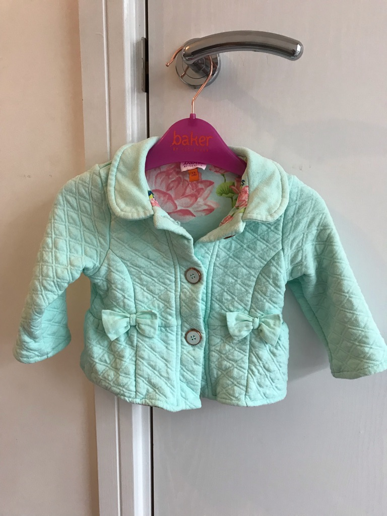 Baby girls coat age 3-6 months