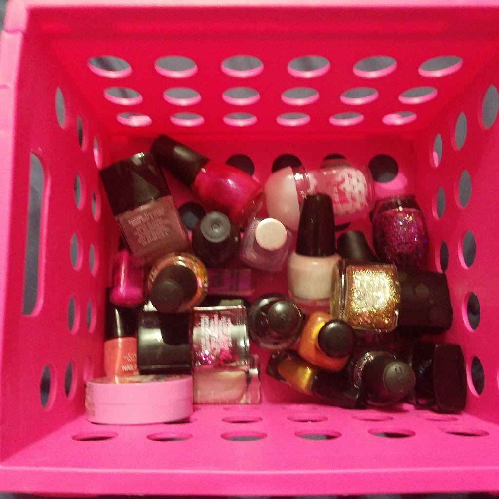 Lots of nail polish