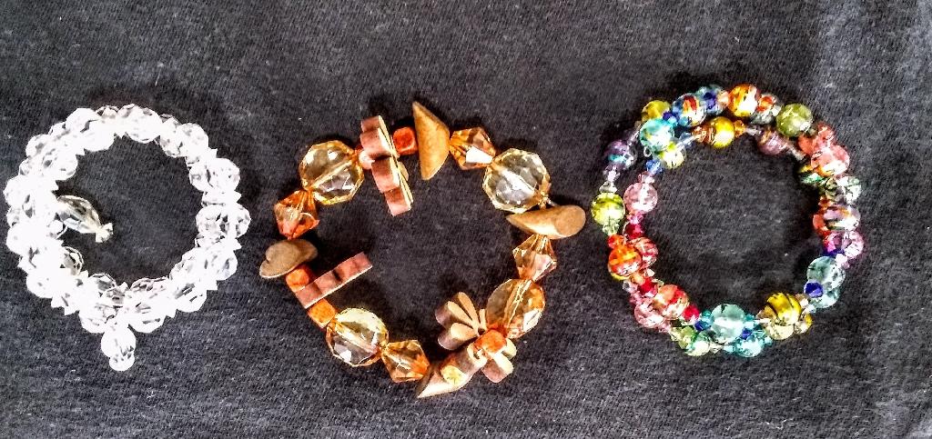 Set of 3 memory Bracelets
