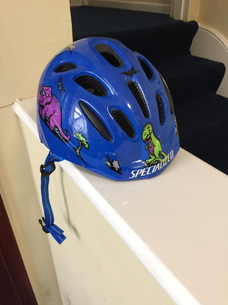 Baby/kids bike helmet