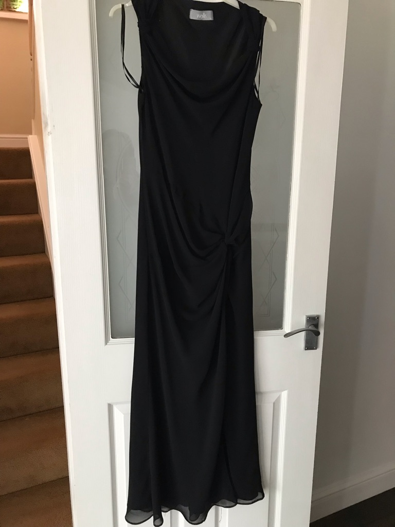 Black ball gown/prom dress size 12