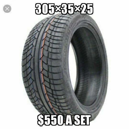 Fresh tires