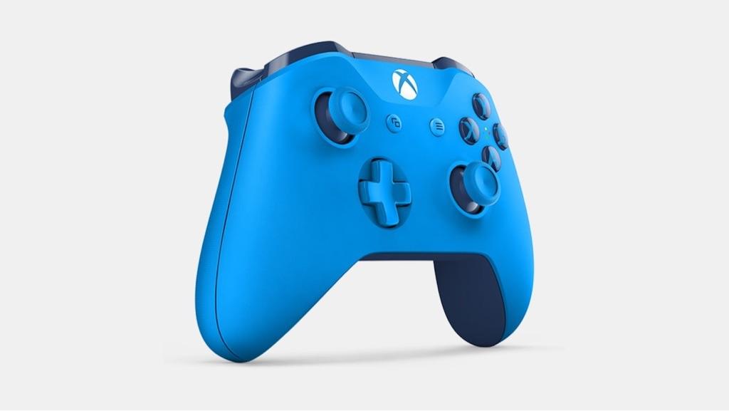Genuine Microsoft Xbox One Wireless Controller - Blue