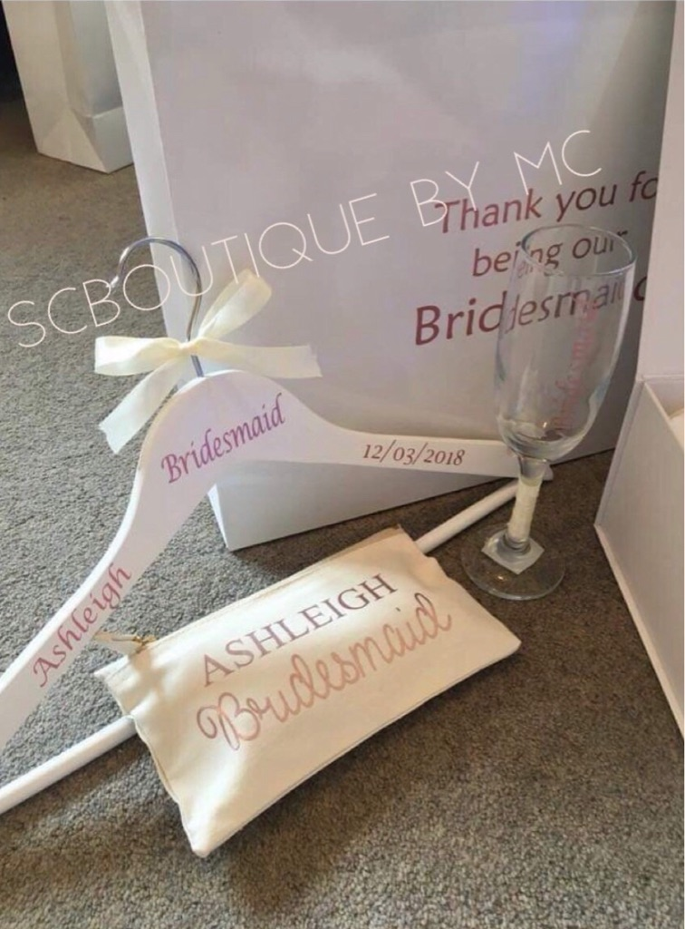 Bridesmaid/Maid Of Honour Gift Bag Package