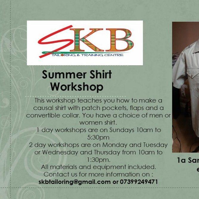 Summer Shirt Workshop