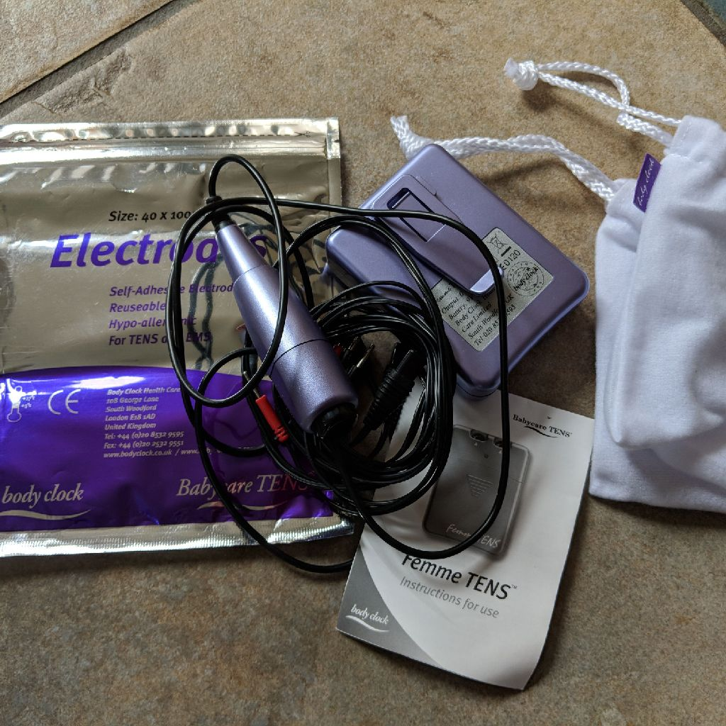 TENS machine and new set of pads