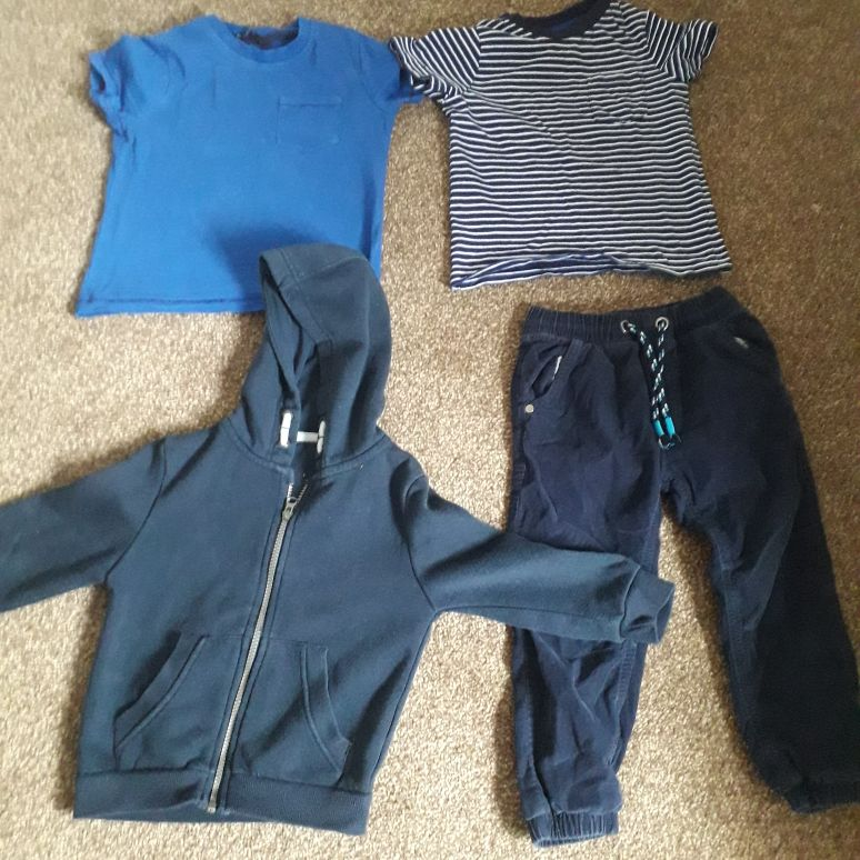 Boys age 3 to 4 bundle