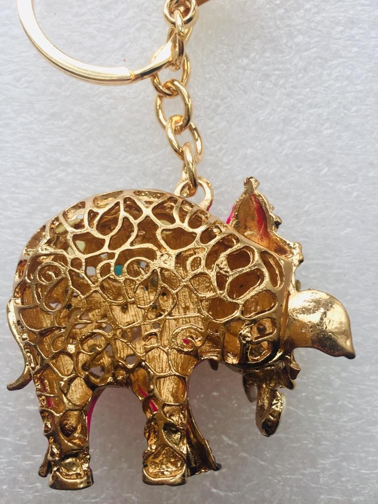 Keys ring holder with elephant..### 5
