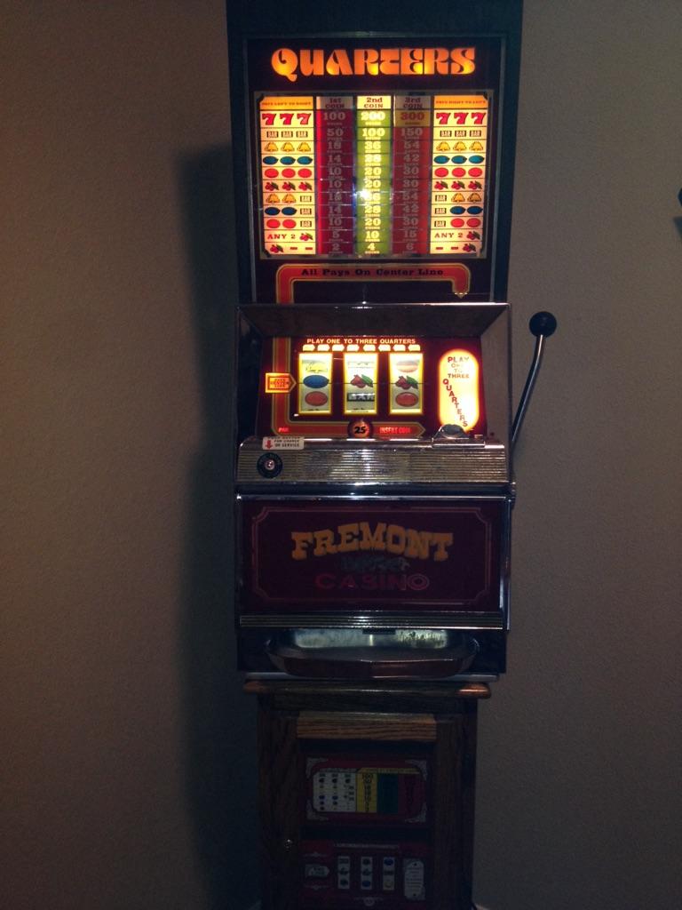 Bally 1987 Fremont casino one arm bandit