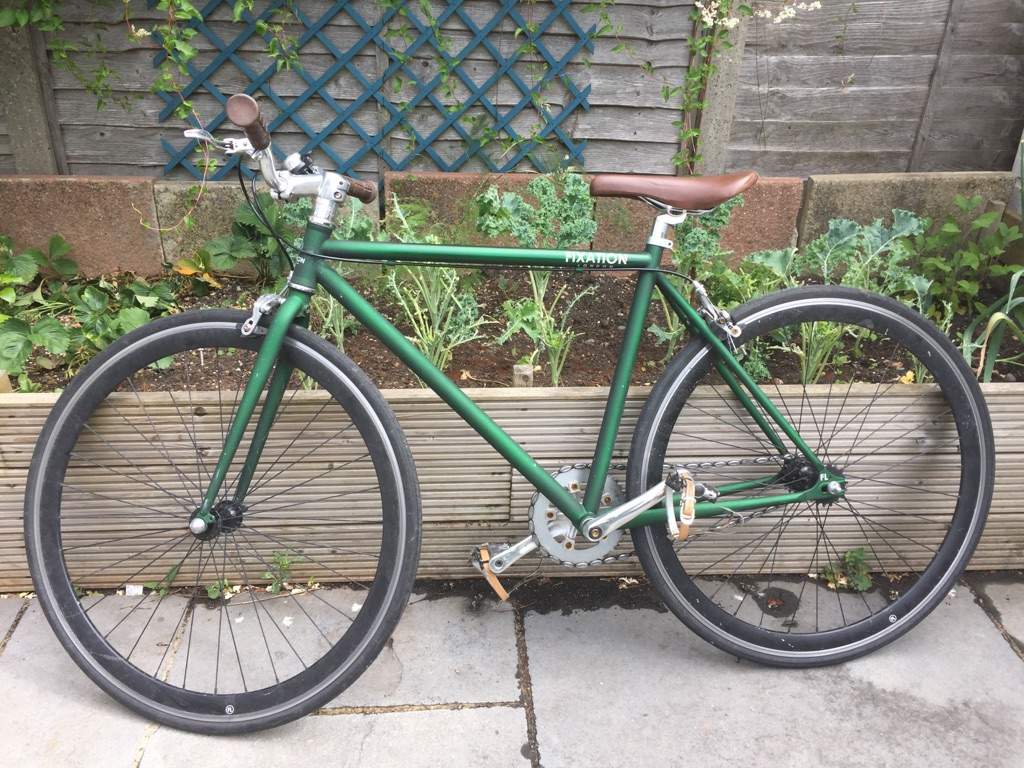 Awesome fixed gear small frame 48cm