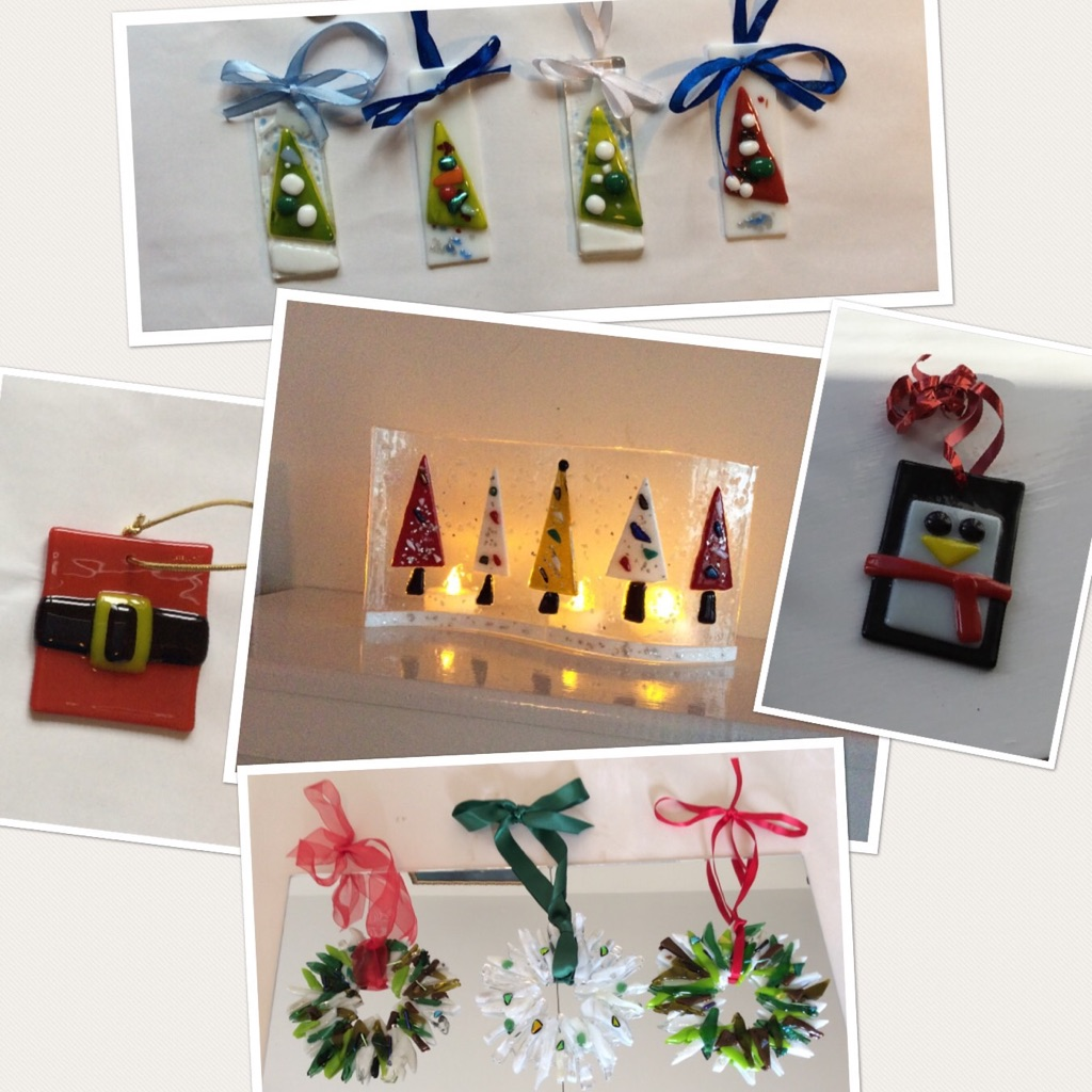 Xmas Glass Craft Full Day Workshop