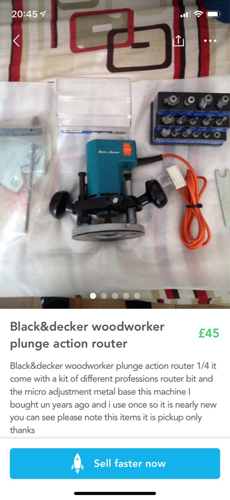 Black&decker woodworker plunge