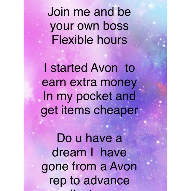 Join Avon and be ur own boss