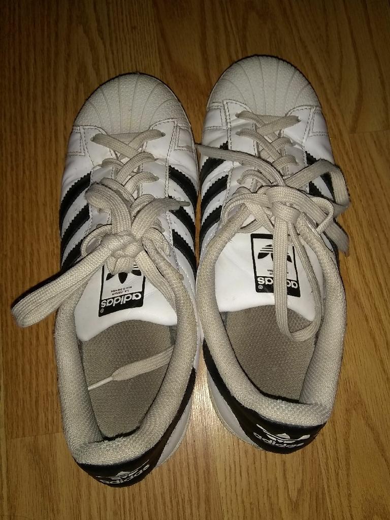 B&W Adidas Superstars