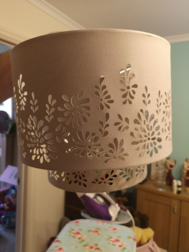 Next curtains and lamp shade