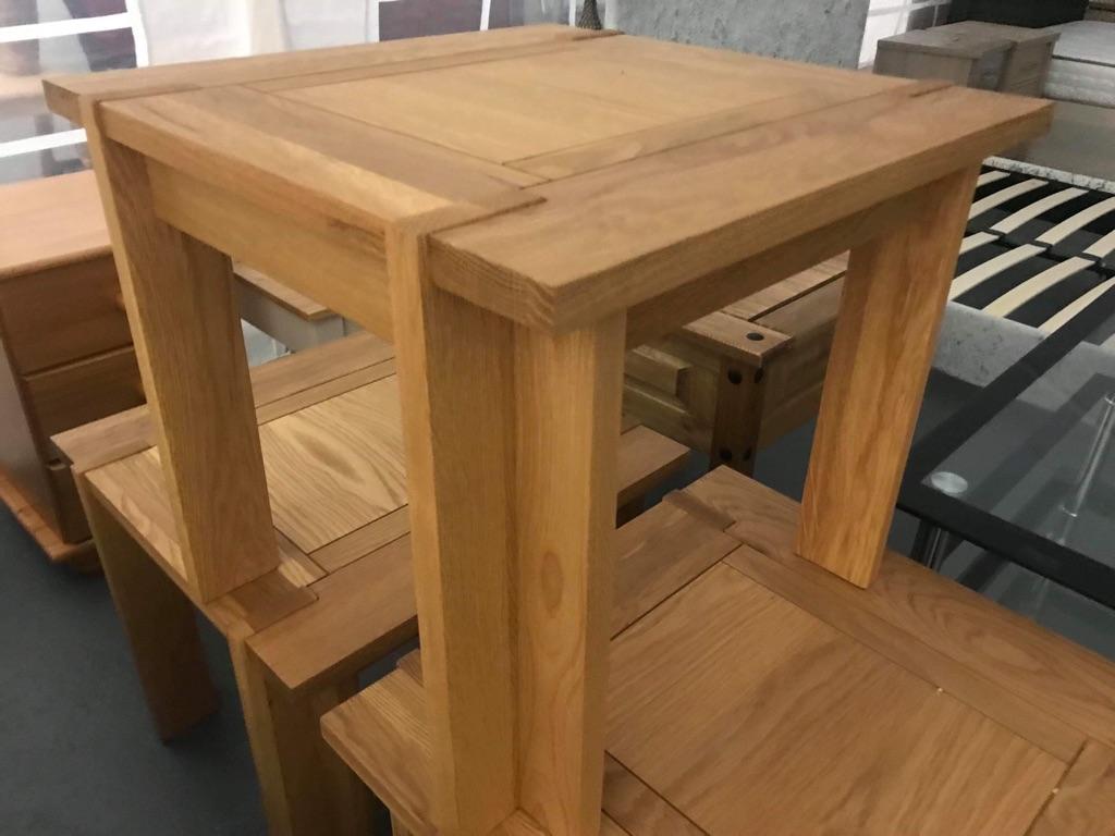 New Oak Lamp Tables