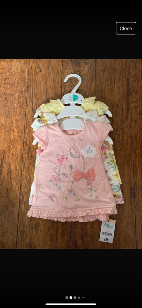 Baby tops and shoes