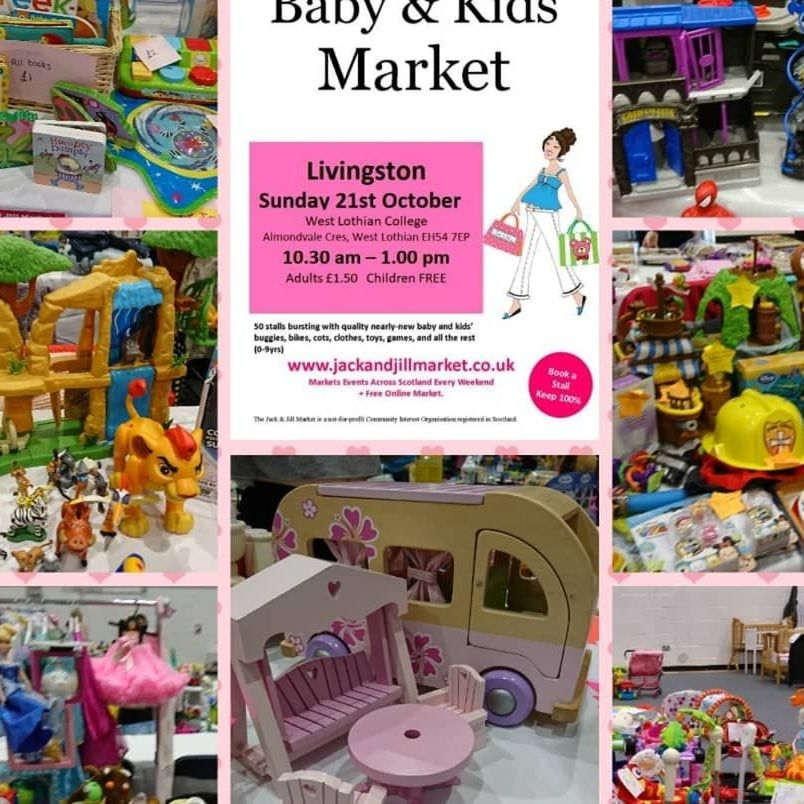 Jack and Jill Baby and Kids Market Livingston