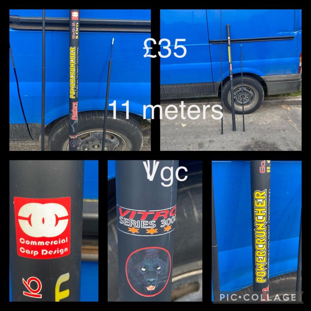 Carp 11 meter fishing pole